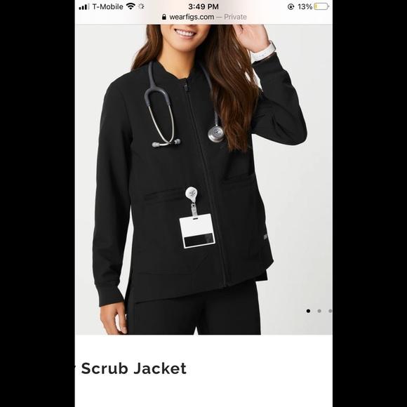 Brand new figs scrub jacket size medium